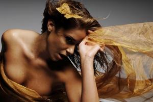 glamorous woman - attention grabbing
