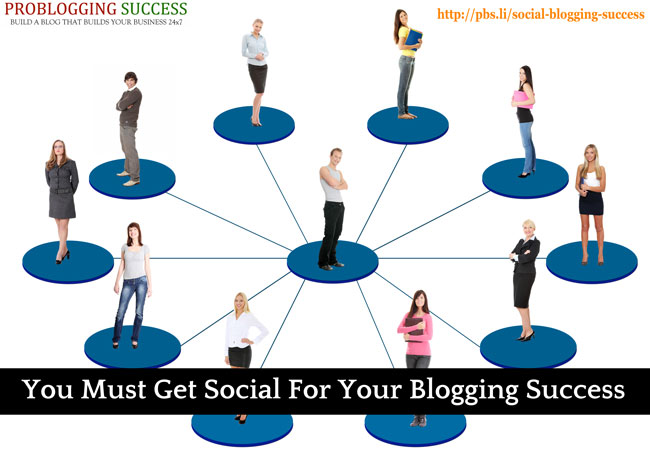 How to make a successful blog by getting social