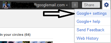 google plus options