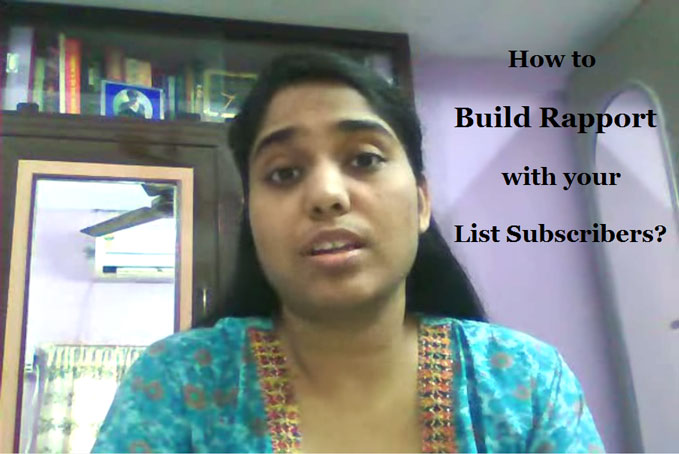 Email Autoresponder: Make It About Your Subscribers And Build Rapport
