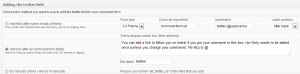 commentluv premium twitterlink settings
