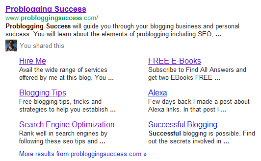 Thesis theme Homepage SEO affecting SERP