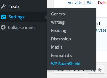 WP-Spam shield