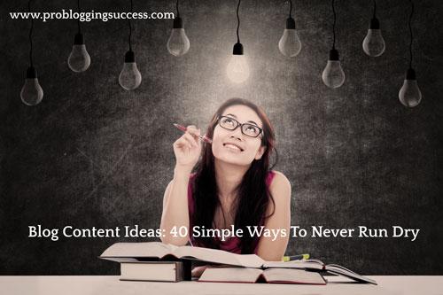 blog post idea bulb