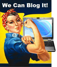 We can blog it to become a problogger