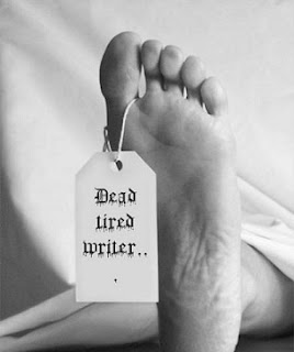dead tired writer