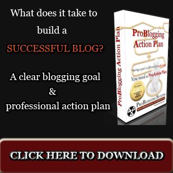 Problogging Action Plan