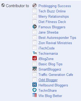 Author rank contributor rank