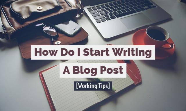 how do i start writing