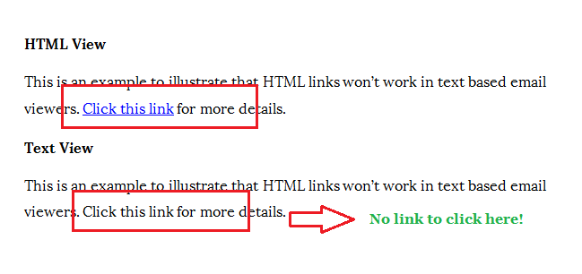 Email marketing mistakes html sample