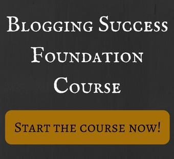 Blogging Success Foundation Course
