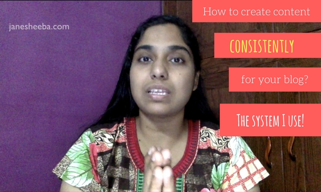 How to create content for your blog(s) consistently? Here's the system I use!