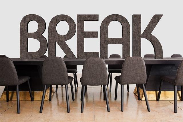 Take productive breaks