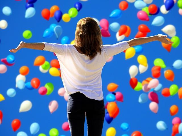 Make lots of positive affirmations