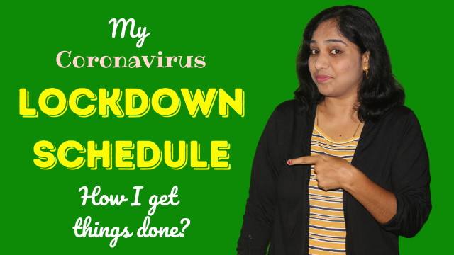 My-Coronavirus-lock-down-schedule